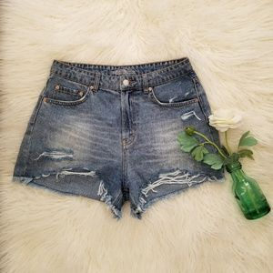 Wild Fable High Waisted Denim Shorts